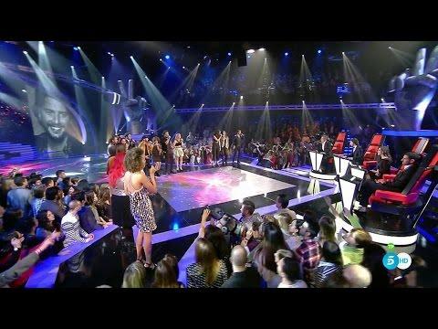 """Equipo Manuel Carrasco: """"Y Ahora"""" - Final - La Voz 2016"""