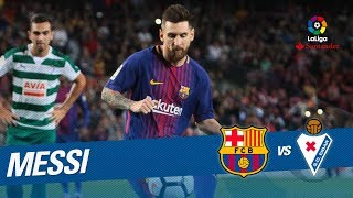 Golazo de messi (4-1) fc barcelona vs sd eibar