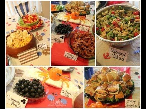 Birthday Party Menu Ideas