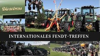 Internationales Fendt Treffen in Niederwil