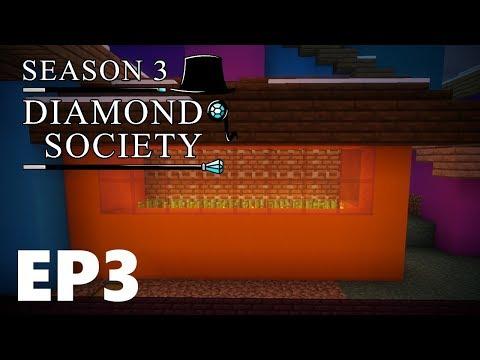 Diamond Society /w NuttyChef [S3 Episode 3] Easy Sugarcane Farm!