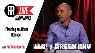 Pat Magnarella, Manager of Green Day, talks Planning an Album Release