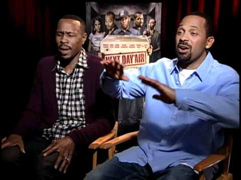 Next Day Air - Exclusive: Wood Harris and Mike Epps Interview