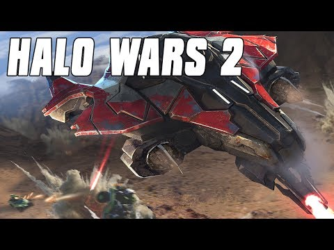Halo Wars 2 Multiplayer 2v2 - Phantom Air Force(no voice)