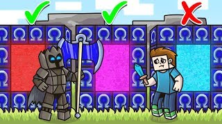 DO NOT Choose The WRONG OMEGA LUCKY BLOCK PORTAL in Minecraft - Lucky Block Portal Mini-Game