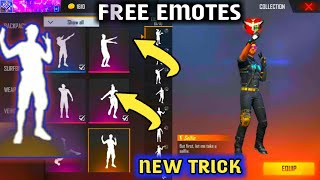 Free Fire Emote Free 2020   | How To Get Free Emote In Free Fire 2020 | Krishna Gamer 07 |Free Emote