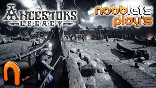 Ancestors Legacy Gameplay - Squad Based RTS - Nooblets Play