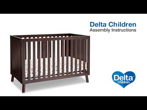 Delta Children Manhattan 3-in-1 Crib Assembly Video