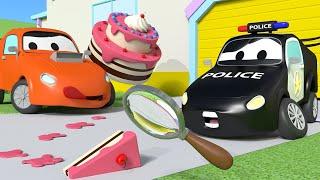 Украденные торты - Автопатруль в Автомобильном городе   Мультфильмы для детей - детский мультфильм