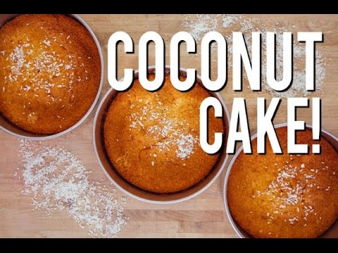 How To Make Moist Delicious COCONUT CAKE Easy Bake And Simple Steps