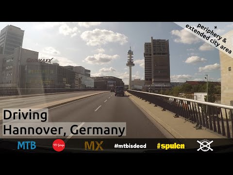 Driving Hannover, Germany 2018