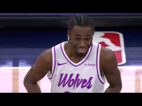 Andrew Wiggins Forgets To Wear Jersey, Almost Doesn't Start
