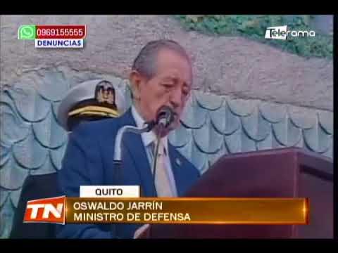 Ministro de Defensa pide confianza en las FFAA para defender el territorio