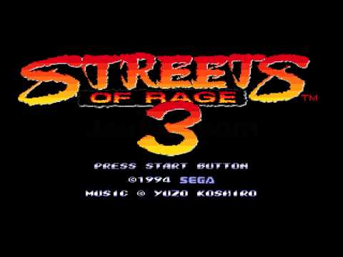 Sega Vintage Collection Music - Menu Theme (Streets of Rage 3) Extended