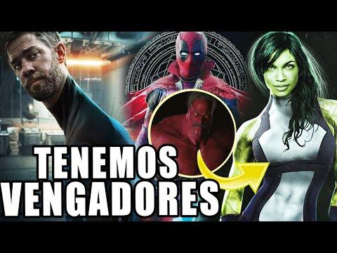 ¡NUEVO VENGADOR! She-Hulk presentaría a Red Hulk, John Krasinski en Marvel y Taika en Deadpool 3
