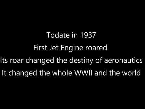 Today Jet engine day Happy Jet engine day my dear aero s
