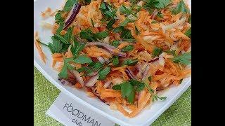 Салат из моркови, яблока и лука: рецепт от Foodman.club