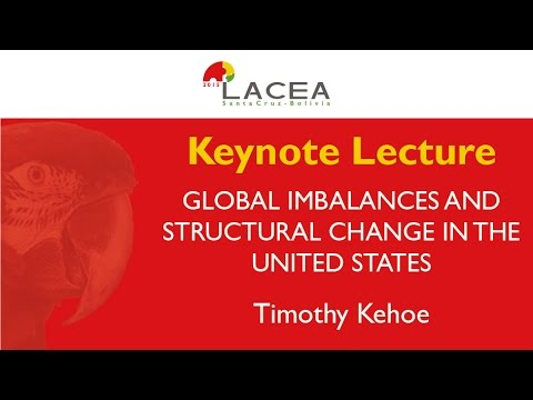 Global Imbalances and Structural Change in the US - Timothy Kehoe