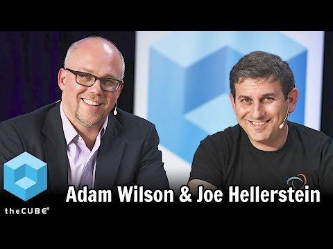 Adam Wilson & Joe Hellerstein, Trifacta  Big Data SV 17  BigDataSV  theCUBE