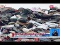 Tumpukan Sepatu Korban Lion Air JT 610 yang Berhasil Dikumpulkan - BIS 31/10