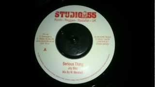 Joy Mac - Serious thing & Serious dub