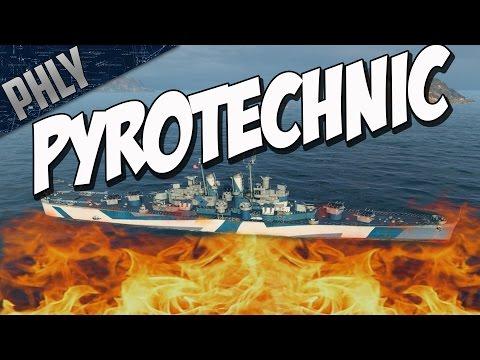 World Of Warships - Pyrotechnic