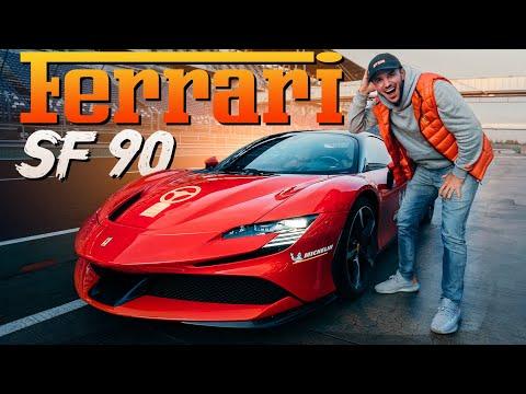 1000PS FERRARI SF90 | Das HYBRID MONSTER auf der Rennstrecke | Daniel Abt