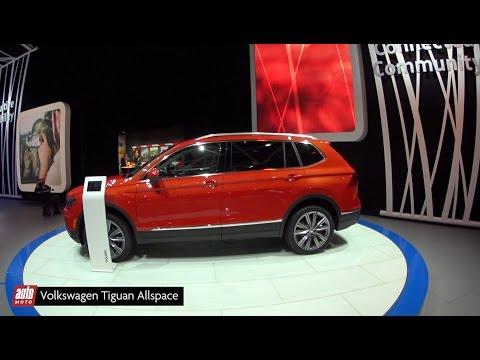 Volkswagen Tiguan Allspace [SALON DETROIT 2017] : le SUV à succès s'allonge