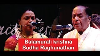 SOUL 2 SOUL / Balamurali krishna and Sudha Raghunathan / SWASTHIK TV