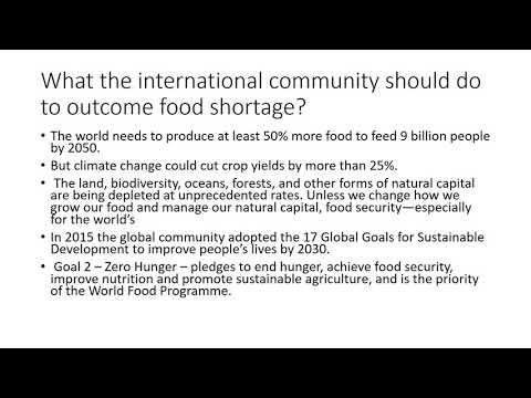 Global Issues  Food   Hammonade Alkrty Keala
