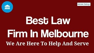Best Law Firm In Melbourne | Australia Top Lawyers Legal Firms Criminal Guide  | Call us(, 2016-07-14T22:37:45.000Z)
