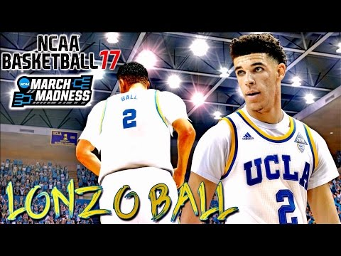 NCAA Basketball 10 | ⛹🏽  Lonzo Ball So Nasty 😝   | 58 Points 11 Assist  in 3 Overtimes!!!!