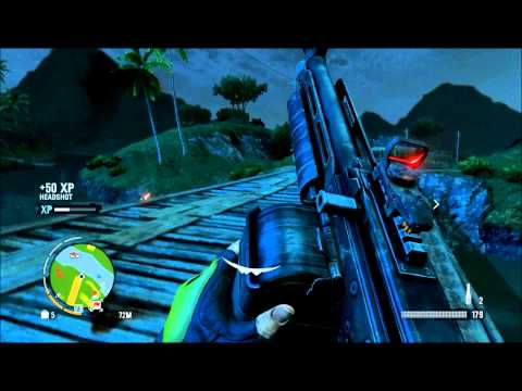 Far Cry 3: Taking a Outpost by brute force.