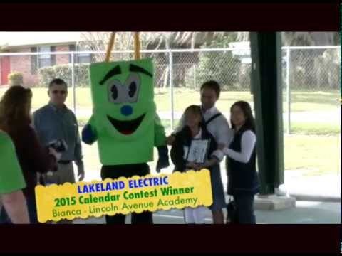 Lakeland Electric 2015 Calendar Contest Winner - Lincoln Avenue Academy
