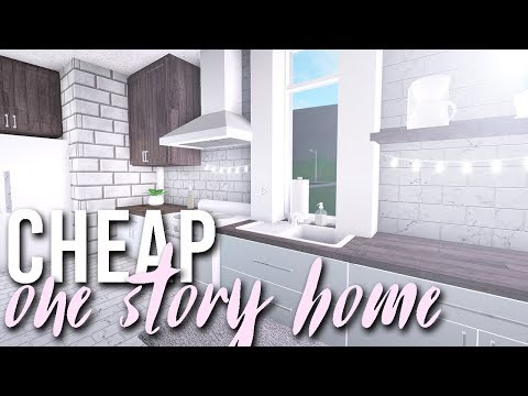 Cheap One Story Home | 35k | Bloxburg Build | alixia