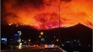 南韓「江原道大火」:惡火大失控,全國進入「災難最高緊急狀態」 | 轉角國際 udn Global