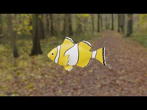 How to animate and control a fish in blender