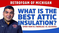 What is the Best Attic Insulation? (Spray Foam vs. Fiberglass vs. Cellulose)