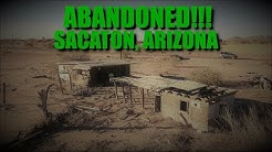 "EXPLORING TWO ABANDONED BUILDINGS IN SACATON, ARIZONA - DRONE (""EAGLE 13"") FOOTAGE INCLUDED!"