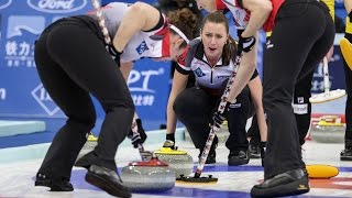 HIGHLIGHTS:Canada v Korea - CPT World Women's Curling Championship 2017