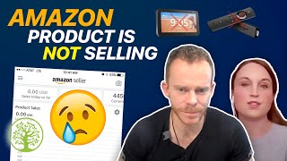 My Amazon product is not selling! 🙀| w/Emily Davcev