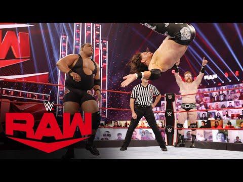 Keith Lee & Sheamus vs. The Miz & John Morrison: Raw, Jan. 11, 2021