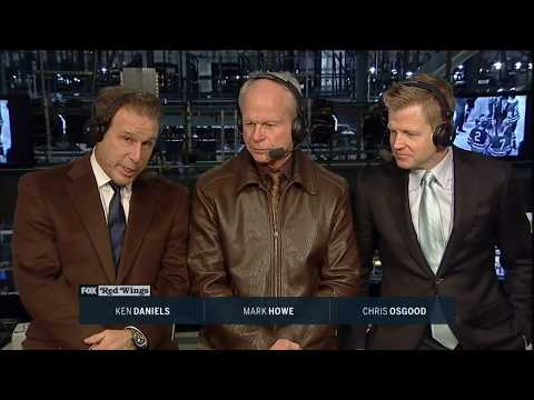 Mark Howe on the death of Johnny Bower