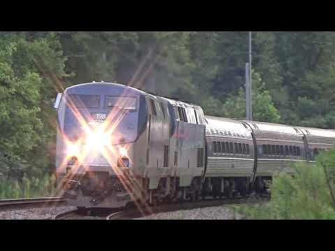 The Amtrak Crescent #20 With Awesome Crew! Mableton,Ga 07-31-2019©