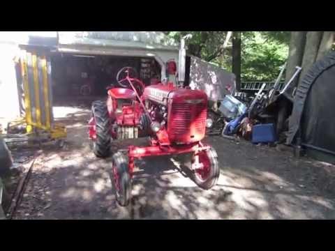 1941 farmall A throttle repair