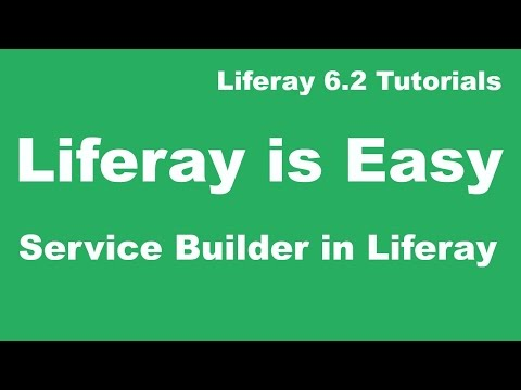 Liferay Tutorial 15 :-  How to Create Service Builder in Liferay 6.2