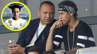 Neymar's father want Neymar transfer to Real Madrid - Neymar transfer news 2018