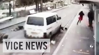 Driver Attacks Pedestrians in East Jerusalem: This Just In