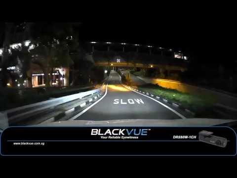 BlackVue DR590W 1CH   Night Footage