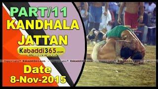 (11) Kandhala Jattan (Hoshiarpur) Kabaddi Tournament 8 Nov 2015